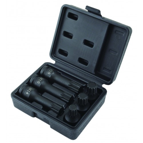 VAG Specialist XZN Spline Socket Set 6pc - Impact Quality