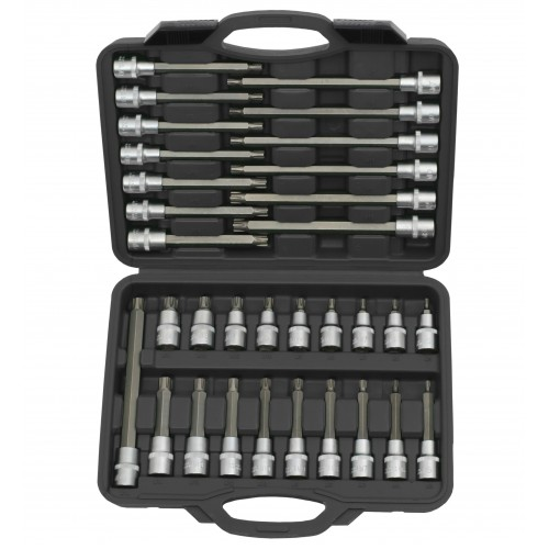 "Ribe Socket Bit Set 32pc -  1/2"" Sq Drive"