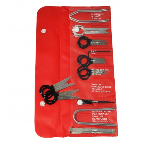 Radio and CD Changer Removal Key Set - 20 pc
